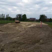 Neuer Sand für den Abreiteplatz